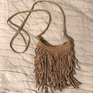 American Eagle Fringe Crossbody bag